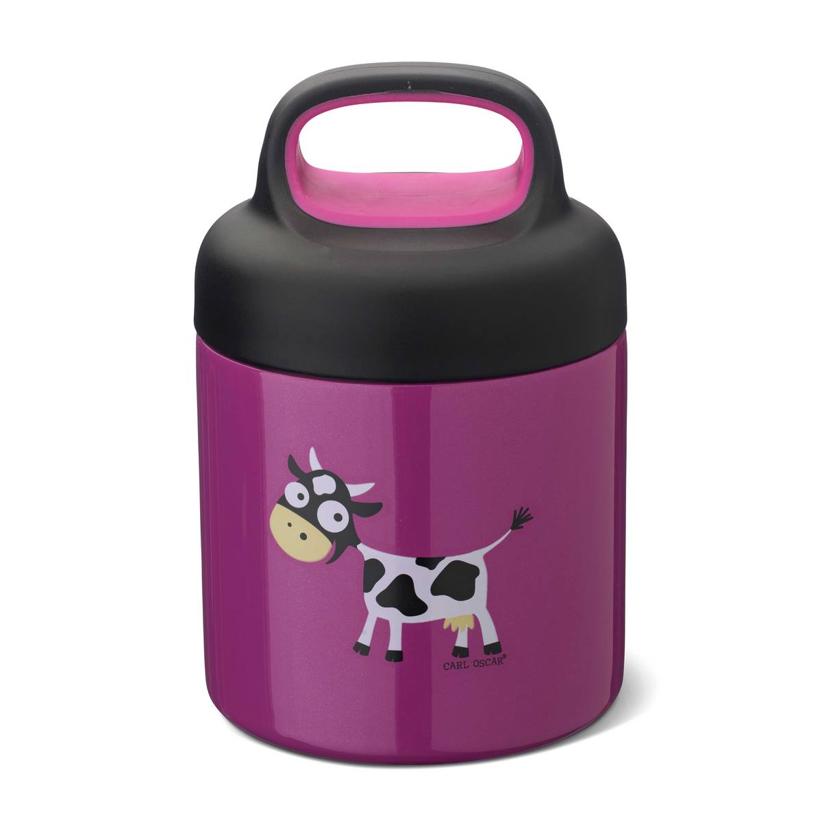 Термос для еды LunchJar™ Cow 0.3л фиолетовый