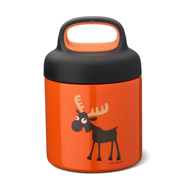 Термос для еды LunchJar™ Moose 0.3л оранжевый
